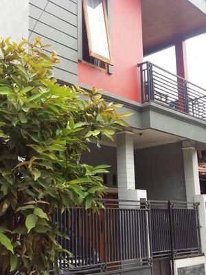 Rumah 2 lantai yang akan dilelang di Kabupaten Bekasi.