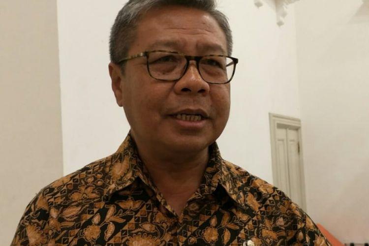 Pelaksana Tugas Kepala Dinas Pendidikan DKI Jakarta Bowo Irianto di Balai Kota DKI Jakarta, Jalan Medan Merdeka Selatan, Kamis (17/1/2019).