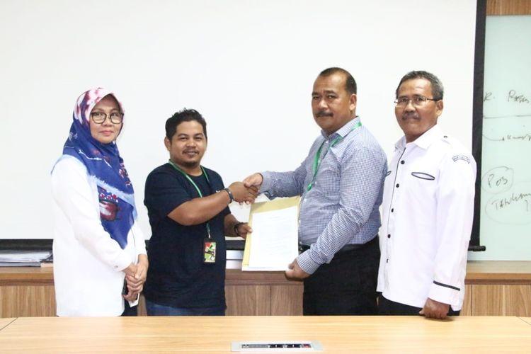 Bawa Paksa Jenazah Bayi, Driver Ojek Online Minta Maaf secara Tertulis ke RSUP M Djamil Padang