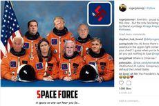 Meme Trump Pakai Baju Astronot Berlogo Swastika Hebohkan Publik