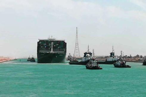 Kapal Ever Given di Terusan Suez Berhasil Dibebaskan, Lalu Lintas Maritim Resmi Dilanjutkan