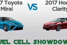 Sekilas Perbandingan Toyota Mirai dan Honda Clarity