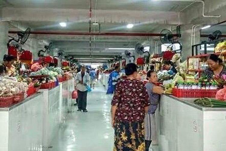 Suasana Pasar Badung