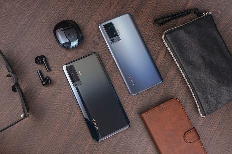 Ilustrasi ponsel Vivo X50 dan X50 Pro