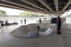 Skaters Bicara soal Plus Minus Fasilitas Skatepark Kolong Flyover Pasar Rebo
