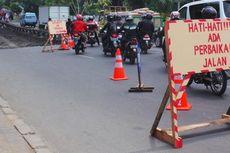 Jelang Arus Mudik Lebaran, Jalan Utama Kabanjahe Diperlebar
