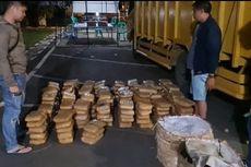 173 Kilogram Ganja Diselundupkan dalam Truk Buah-buahan Tujuan Jakarta