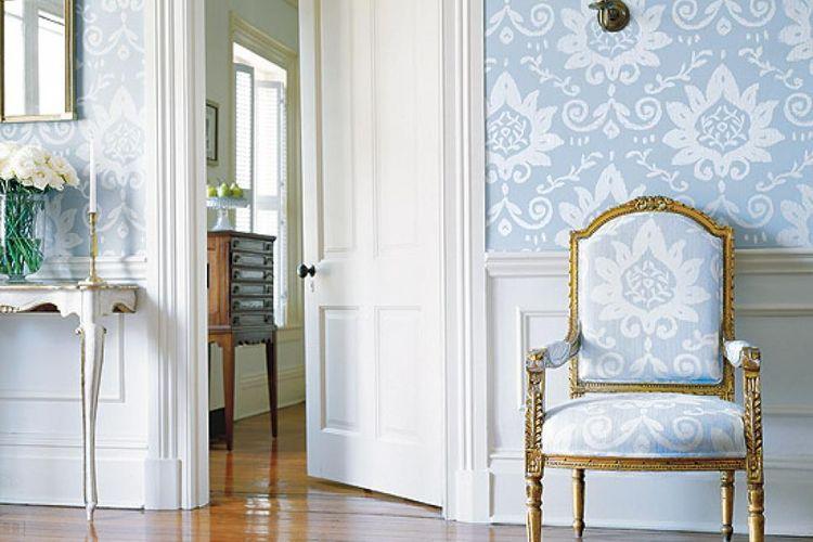 Ilustrasi wallpaper rumah.