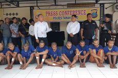 Polisi Tembak 7 Anggota Sindikat Pencurian Sepeda Motor yang Resahkan Warga