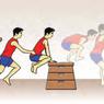 Cara Melakukan Lompat Kangkang pada Senam Lantai