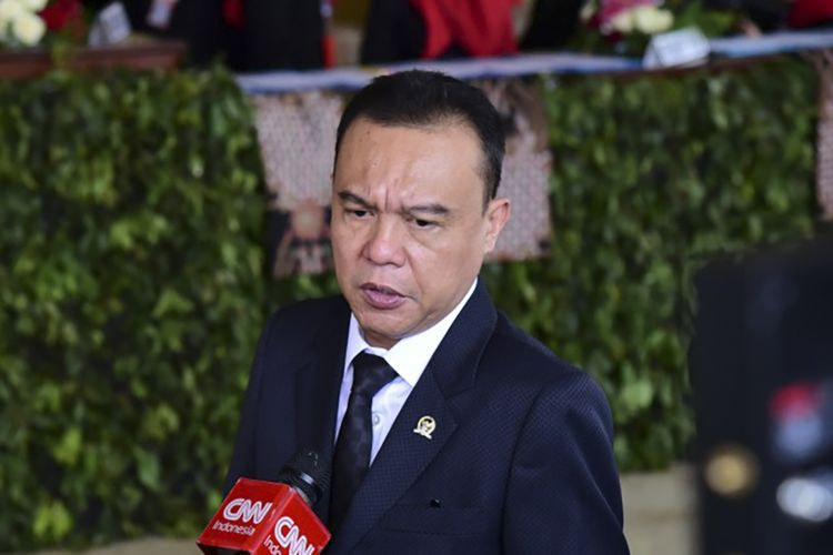 Wakil Ketua DPR RI dari Partai Gerindra, Sufmi Dasco Ahmad.