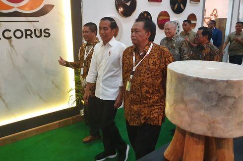 Presiden Jokowi Yakin Industri Mebel dan Kerajinan Tumbuh 2 Digit