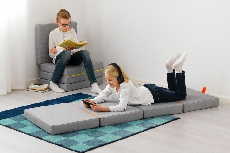 IKEA Indonesia menghadirkan produk furnitur yang terbuat dari material aman serta tahan lama sehingga bisa meningkatkan mood anak saat beraktivitas di rumah.