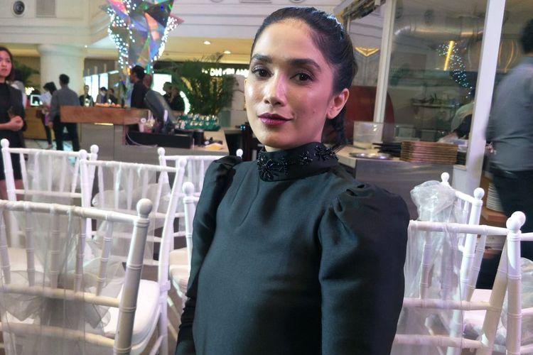 Ussy Sulistiawaty saat ditemui dalam acara Anniversary 14 th Passion Jewelry di Plaza Indonesia, Thamrin Jakarta Pusat, Senin (2/12/2019).
