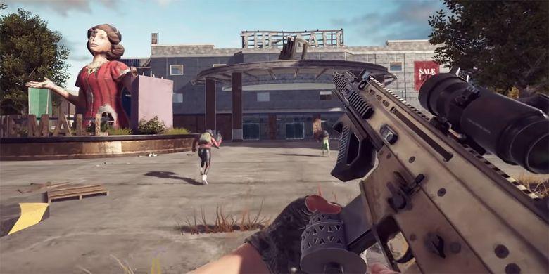 Tangkapan layar trailer game PUBG New State yang memperlihatkan gameplay dan peningkatan visual