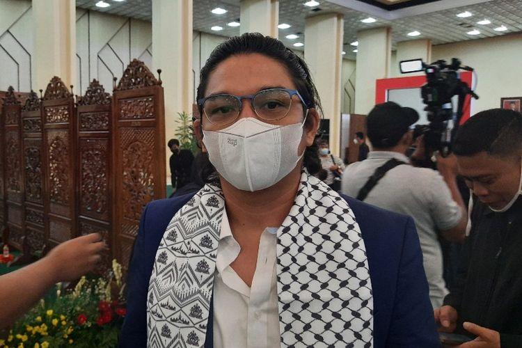 Pasha dan Enda Ungu menciptakan lagu khusus untuk Palestina yang berjudul Pasti Ada Harapan.