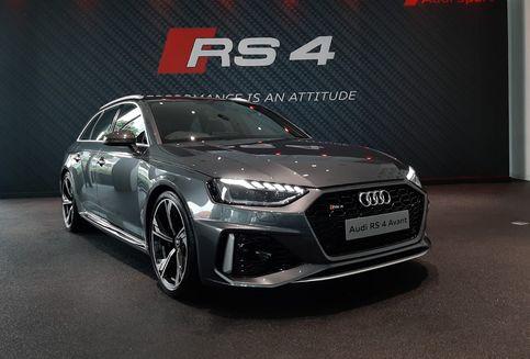 Ulik Tampang Agresif dan Buas Audi RS4 Avant