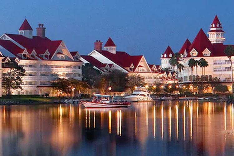 Disney Resort Hotel, Florida, Amerika Serikat.