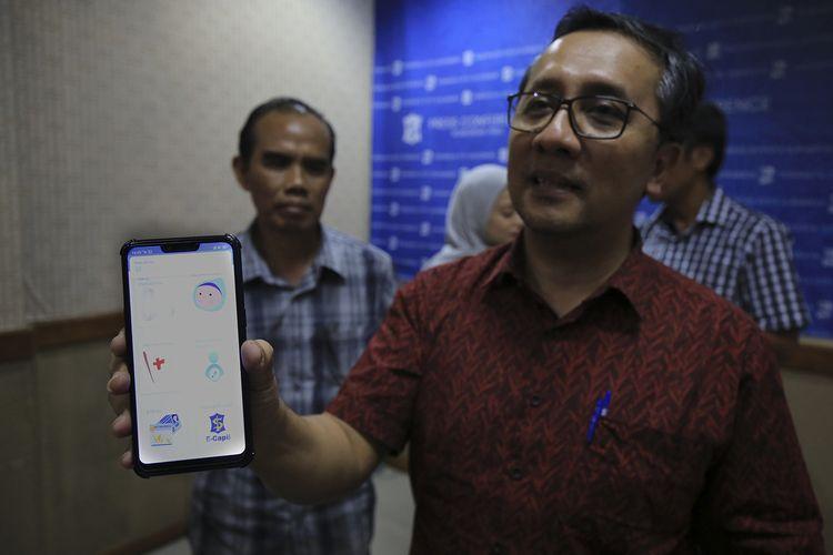Kepala Dispendukcapil Surabaya Agus Imam Sonhaji