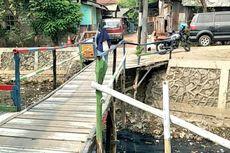 Warga Minta Pemprov DKI Buat Jembatan Beton di Kali Tegal Amba