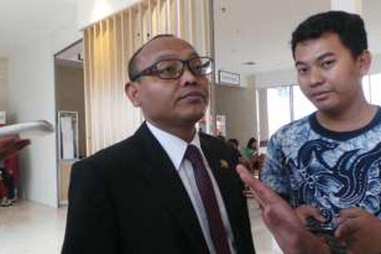 Anggota Komisi A DPRD DKI Jakarta Syarif di gedung DPRD DKI Jakarta, Rabu (13/4/2016).