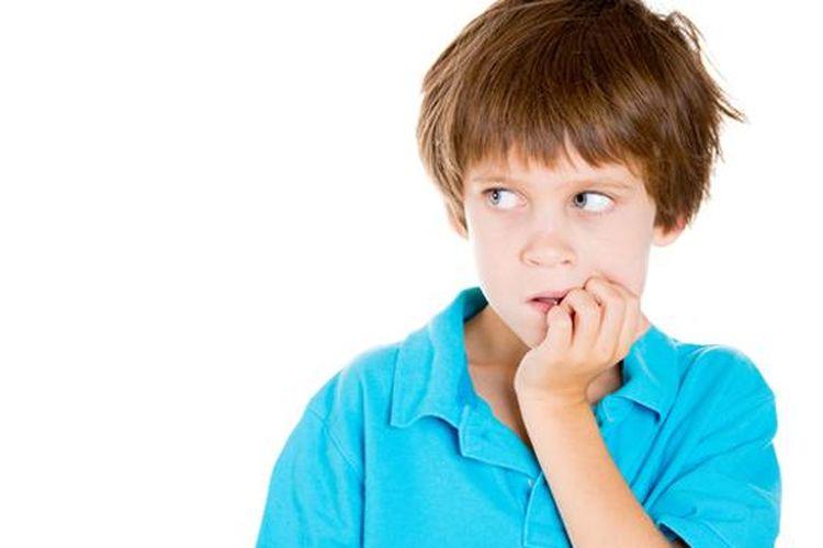 Ilustrasi gangguan mental, penyebab kleptomania pada anak.
