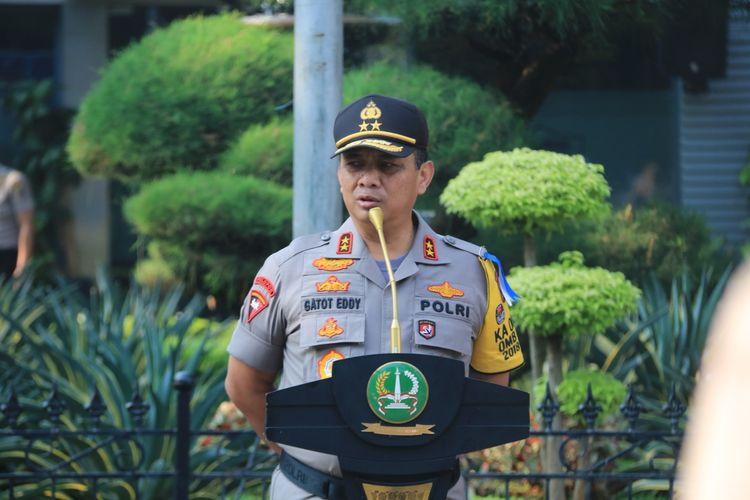Kapolda Metro Jaya Irjen Gatot Eddy Pramono di Polda Metro Jaya, Rabu (8/5/2019).