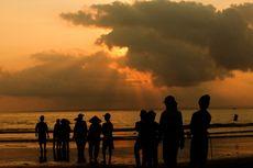 Sempat Ditutup, Pantai Pangandaran Kembali Dibuka Minggu Sore, Ini Penyebabnya
