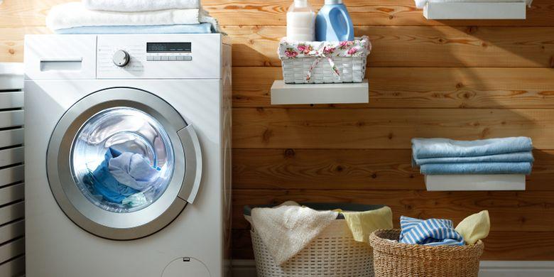 Simak, Ini Langkah Membersihkan Mesin Cuci Bukaan Depan
