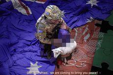 Pejabat China Unggah Foto Tentara Australia Acungkan Pisau ke Leher Bocah, Ternyata Palsu