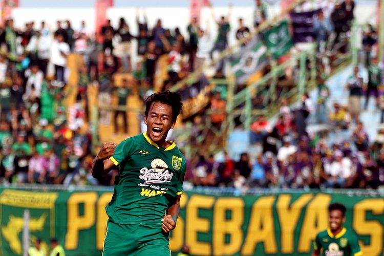 Pemain muda Persebaya Surabaya, Muhammad Supriadi.