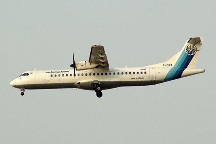 Aseman Airlines, maskapai komersial asal Iran. (Iran Front News)