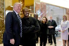 Jarang Singgung Selebriti di Twitter, Kali Ini Trump Sebut Kanye West