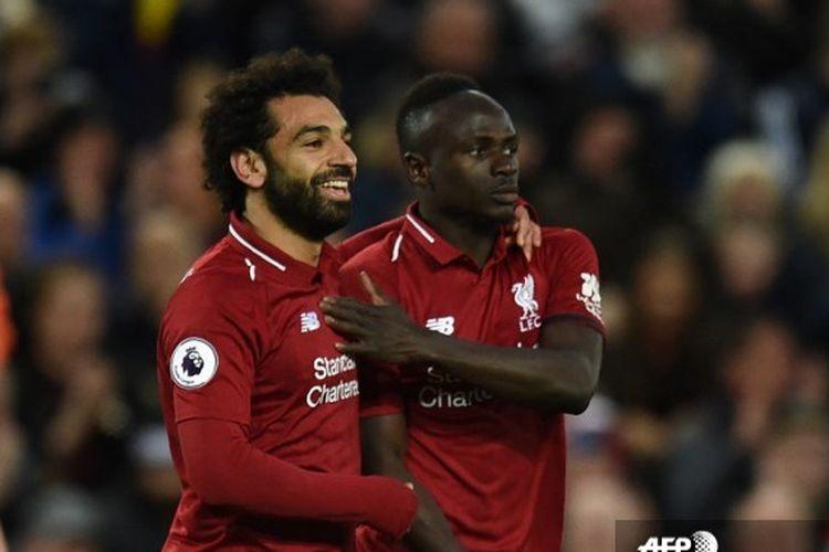 Mohamed Salah dan Sadio Mane