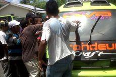 Teman Dipukul Polisi, Sopir Angkot di Ambon Mogok