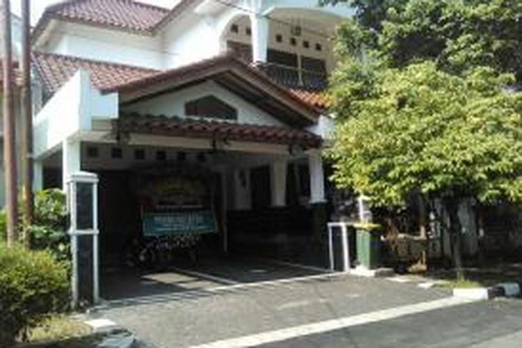 Rumah pribadi Menlu Retno Marsudi di Pesona Khayangan Blok EG 1, Depok, Senin (27/10/2014).