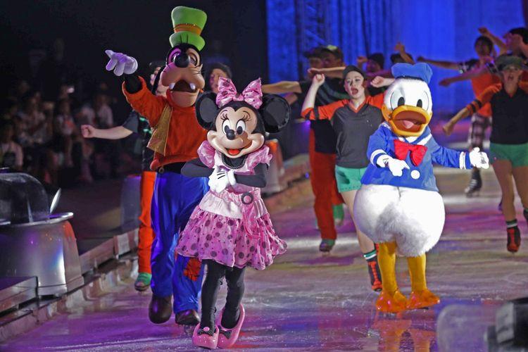 Pertunjukkan Disney on Ice di ICE, BSD, Rabu (24/4/2019)