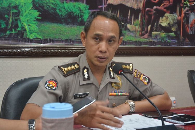 Kabid Humas Polda Papua, Kombes Pol Ahmad Mustofa Kamal.