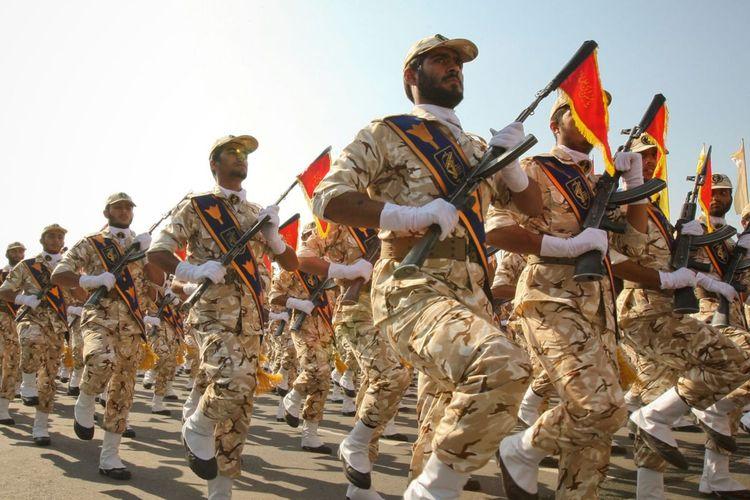 Garda Revolusi Iran.
