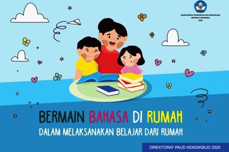 Tahapan perkembangan bahasa anak dari Kemendikbud.