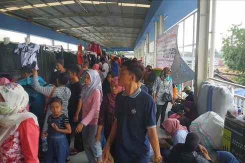 Pedagang: Dulu di Jatibaru Rp 200.000, Setelah di Skybridge Bisa Rp 2 Juta Per Hari