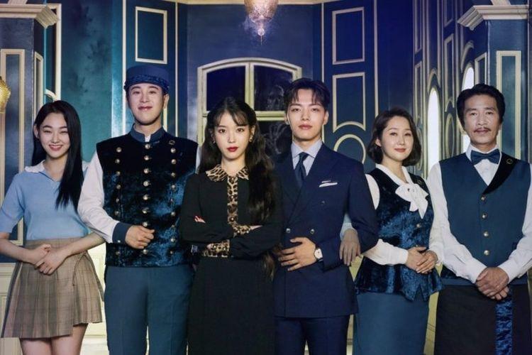 Poster drama Korea Hotel Del Luna.