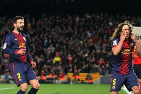 Pique dan Puyol Ungkap Rahasia Kesuksesan Barcelona Meraih Sextuple