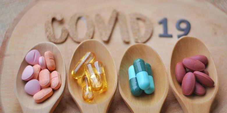 Ilustrasi obat untuk pasien Covid-19. Pasien Covid-19 dengan kondisi ringan, sedang hingga parah, biasanya tidak hanya menerima satu jenis obat. Interaksi obat bisa memberikan berbagai efek, namun tidak selalu merugikan, tetapi juga bisa menguntungkan.