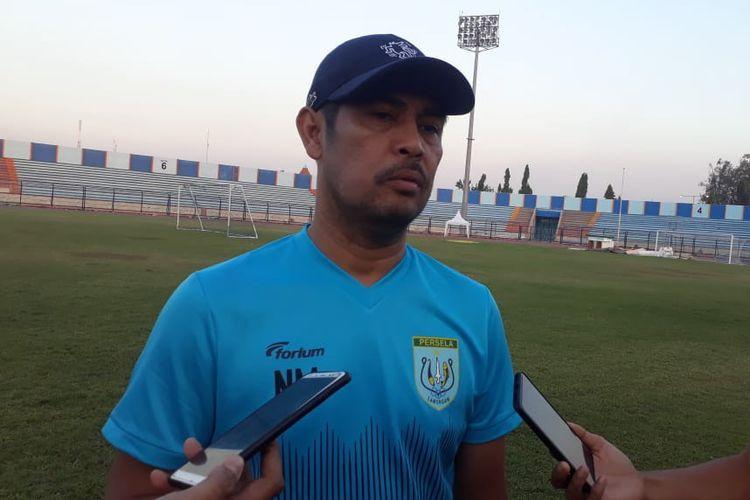 Pelatih baru Persela Lamongan, Nilmaizar.