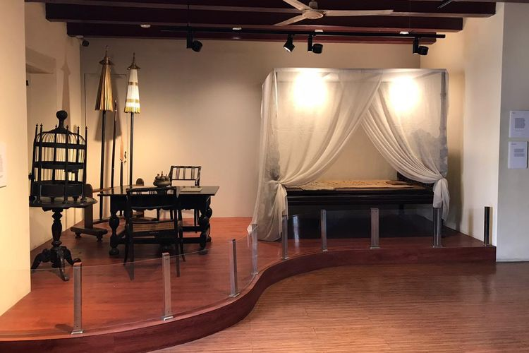 Ruang Pangeran Diponegoro di Museum Fatahillah, Jakarta, Rabu (12/8/2020). Pangeran Diponegoro sebelum diasingkan ke Manado sempat singgah di Batavia tepatnya di Stadhuis Batavia (Balaikota Batavia) untuk ditahan selama hampir sebulan sambil menunggu keputusan dari Dewan Pengadilan Belanda.
