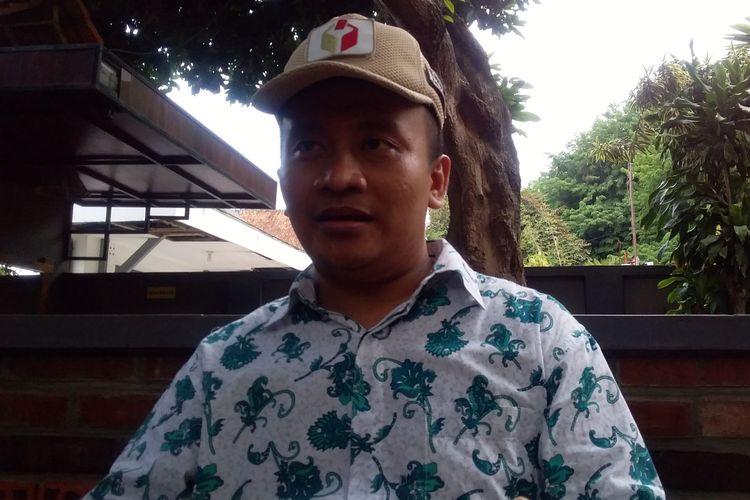 Koordinator Divisi (Kordiv) Penindakan Pelanggaran Bawaslu Kota Semarang Naya Amin Zaini saat ditemui awak media, Jumat (29/11/2019)