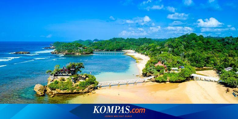 7 Wisata Pantai Di Malang Selatan Ada Pantai Balekambang Halaman All Kompas Com
