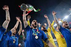 Pengakuan Bonucci: Suporter Inggris Mencemooh Lagu Kebangsaan Italia