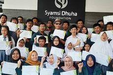 SDF Salurkan Dana Beasiswa bagi Penyandang Difabel Netra dan Autoimun.